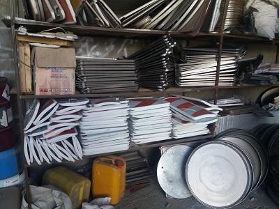 خرید بدون واسطه تابلو و علائم ترافیکی در کشور